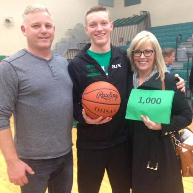 Bryce Brewster joins 1000 point club