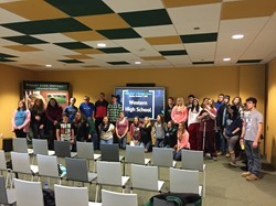 WHS Students Visit Wright State University